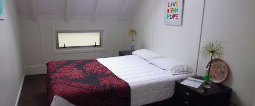 Hostel double bed