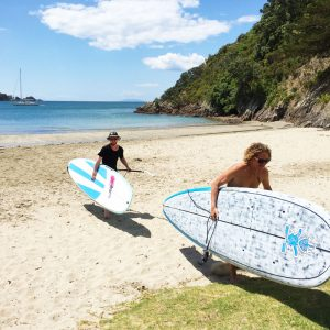 Stand Up Paddle Boarding on Palm Beach