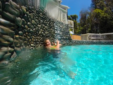 Hangin in the Plunge Pool