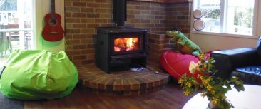 Our wood-burner